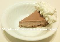 Strawberry Cream Pie Slice