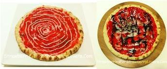 Strawberry Pizzas