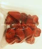 Strawberries in a Freezer Storage Bag