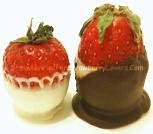 Tuxedo Strawberries Side View